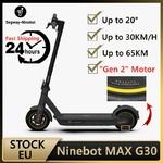 Ninebot-Trottinette-lectrique-intelligente-MAX-G30-pliable-double-frein-avec-application-la-version-la-plus-r