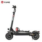YUME-D4-puissant-10-double-moteur-2000W-pneu-pneumatique-jusqu-40Mile-40MPH-pliable-Scooter-lectrique-pour