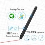 XP-Pen-Star-G640-OSU-Tablette-Graphique-6x4-Pouces-Ultra-Fine-Stylet-Passif-sans-Batterie