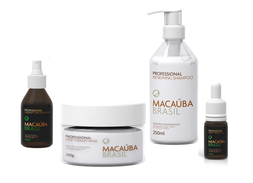 MACAUBA KIT 4 PRODUITS