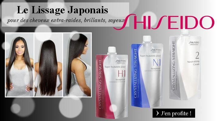 Lissage japonais Shiseido