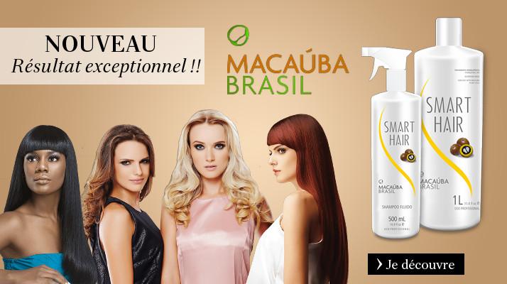 Lissage bresilien Macauba Brasil sans formol