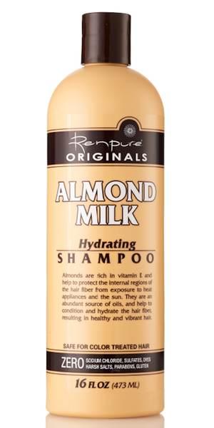 Shampoing hydratant au lait d'amande