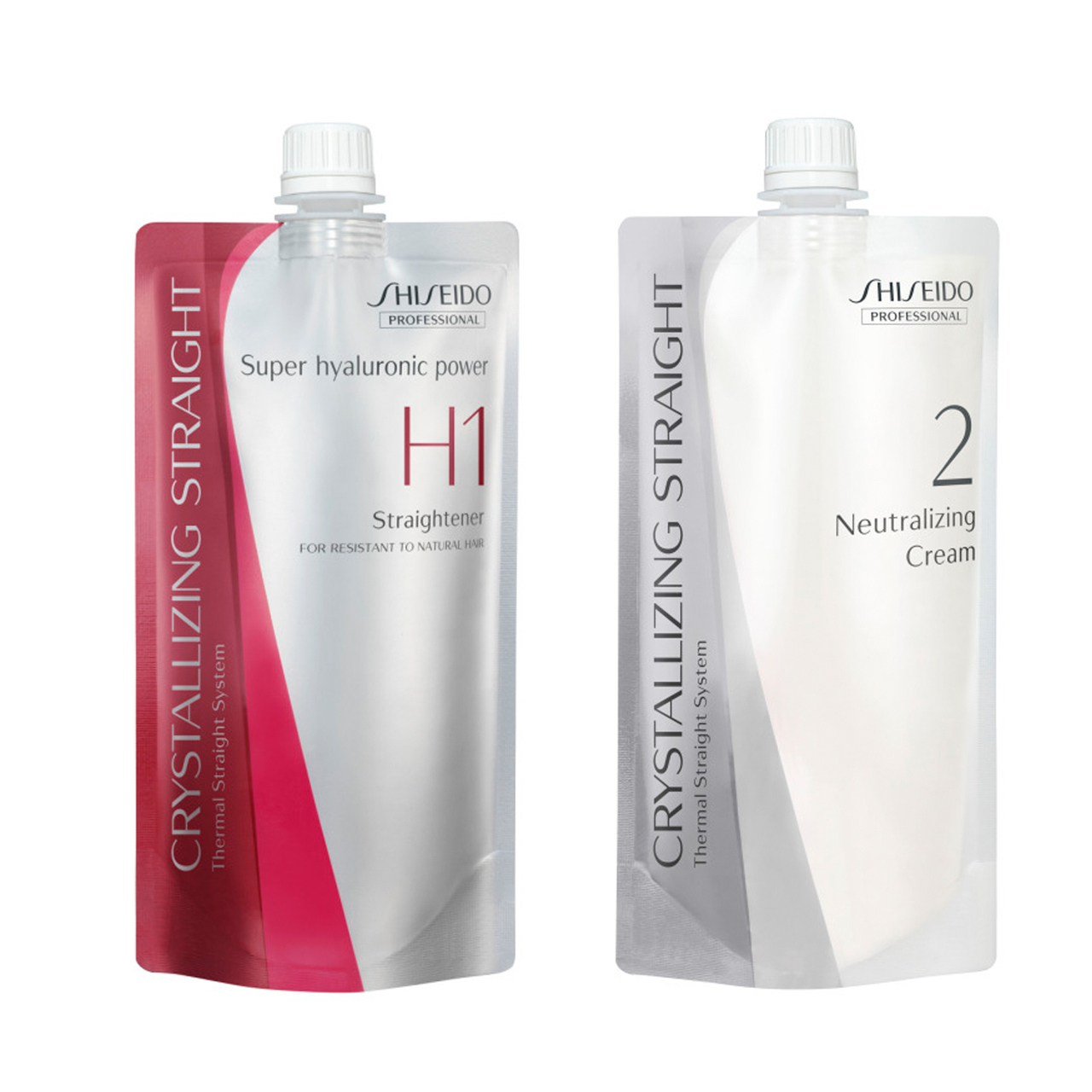 shiseido crystallizing straight H1 H2