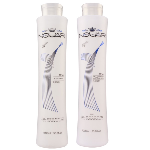 Kit Lissage Bresilien Nouar  professional Maxx platinum 1000 ml