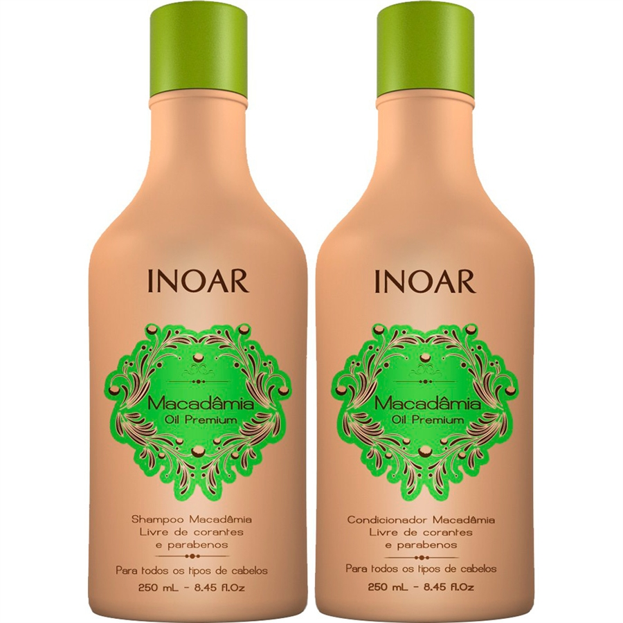 Inoar Duo entretien lissage à l'huile de Macadamia