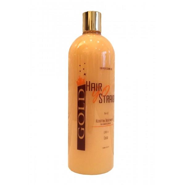 Lissage brésilien Hair go straight Gold