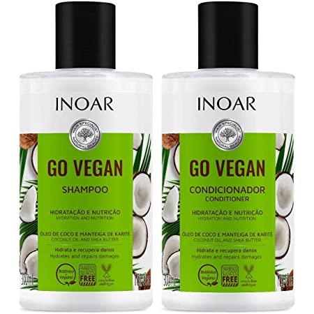 Go Vegan Shampoing et conditioner hydratant