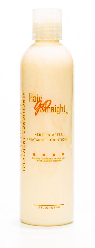 CONDITIONER KERATINE HAIR GO STRAIGHT 236ML