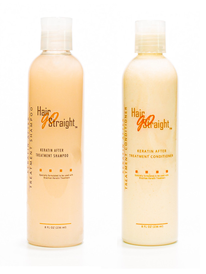 Duo Shampoing Conditionner Hair Go Straight 236 ml