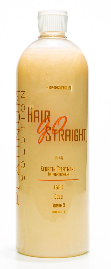 LISSAGE BRESILIEN HAIR GO STRAIGHT PLATINUM SOLUTION