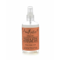 Spray fixant brillance et hydratation Coconut Hibiscus Shea Moisture 236ml