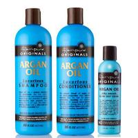 Kit entretien lissage Renpure Argan Oil 4