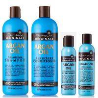 Kit entretien lissage Renpure Argan Oil 3