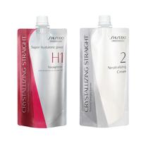 Lissage japonais Shiseido Crystallizing Straight H1+H2- Cheveux Très Résistant