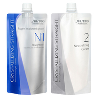 Lissage japonais Shiseido Crystallizing Straight N1+N2 - Cheveux Colorés