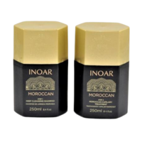 Kit lissage brésilien Inoar Marroquino 2 X 250 ml