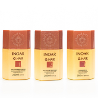 Kit Lissage Inoar Ghair 3 X 250 ml