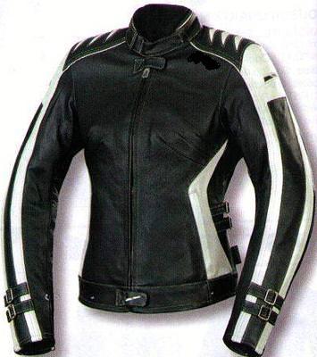 Blouson moto femme cuir blanc
