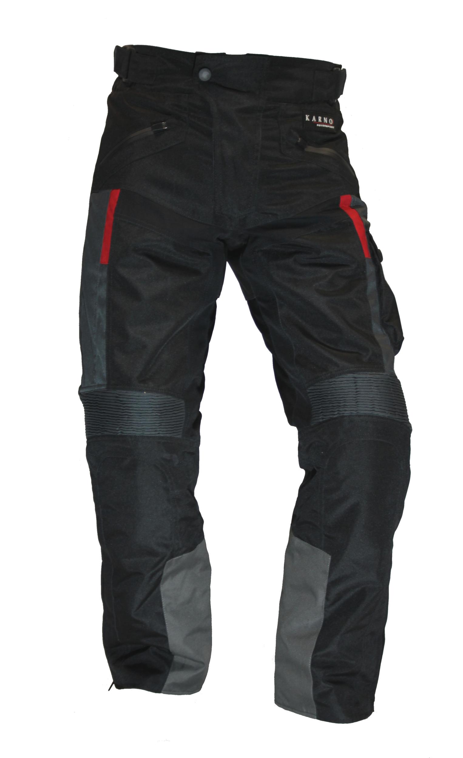 kt313 pantalon moto quad textile karno motorsport crossway noir. Black Bedroom Furniture Sets. Home Design Ideas