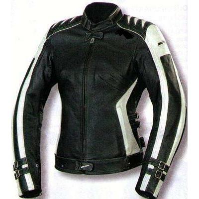 2268a79c70642 Kc015 Blouson moto FEMME cuir cintré noir beige KARNO - doublure ...