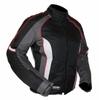Kt010 Blouson textile moto FEMME KARNO cintré - doublure hiver amovible