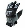 Kt400 Gants motocross moto quad KARNO en elasthane, protections carbone