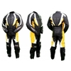 Kc201_Combinaison moto jaune