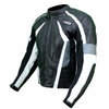 Kc022 Blouson veste cuir moto quad noir KARNO-MOTORSPORT - THUNDER
