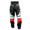 Kc300 pantalon moto quad RACING cuir noir et rouge KARNO - SLIDERS INCLUS