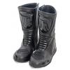 Kc600 bottes moto racing cuir noir piste route KARNO sliders et renforts inclus