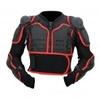 Kt507 Pare pierres plastron motocross KARNO avec dorsale intégrée