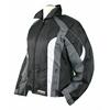Kt016 blouson moto textile femme Karno-Motorsport noir/gris