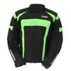 Kt020 Blouson moto Spirit Green fluo