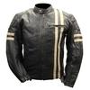 Blouson moto cuir vintage GENESYS