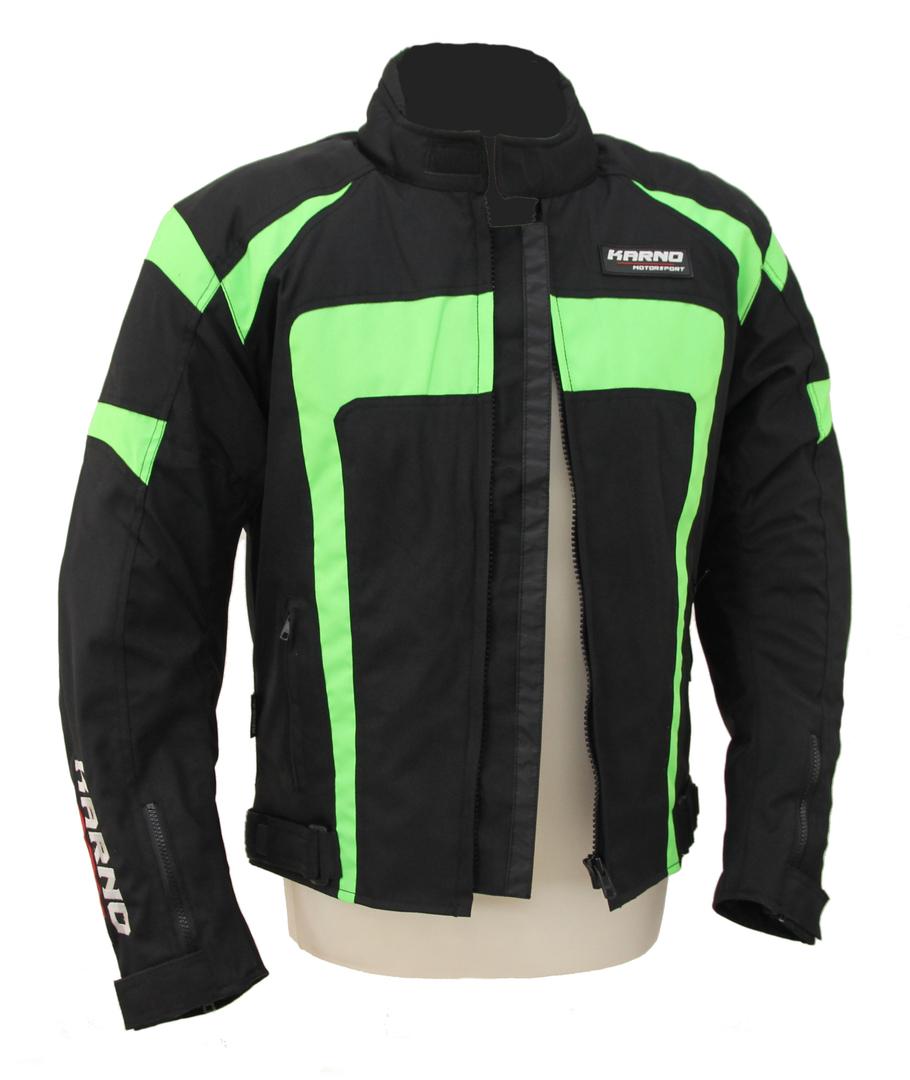 Textile Spirit Fluo Kt020 Vert Motorsport Blouson Moto Karno FURqSS