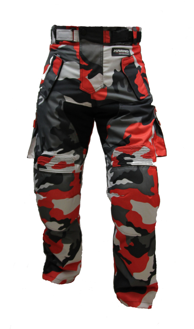 cheapest price purchase cheap low price sale Kt310 Pantalon moto quad treillis rouge camouflage militaire MARPAT Urban  red