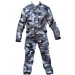 Kt200 Combinaison moto/quad KARNO treillis gris en Cordura uniforme militaire