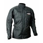 Kt004 Veste parka textile moto quad KARNO noir - doubl. hiver amovible REVERSO