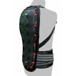 Kt506 Protection Dorsale KARNO à bretelles - sécurité moto / ski / snowboard