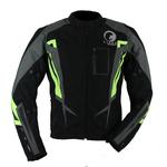 Kt018 Blouson moto textile JASON fluo Karno-Motorsport