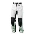 Kt304 Pantalon moto textile FEMME blanc KARNO - WHITE PEARL