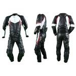 Kc212 Combinaison moto cuir GP Vortex Karno-Motorsport - 2 pièces