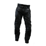 Kc308 pantalon moto en cuir noir LongWay - Karno-Motorsport