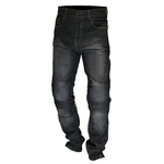 Kt311 Jean moto gris Karno doublé Kevlar - protections CE