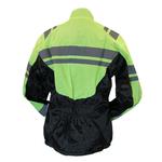Kt509_2_Veste moto pluie haute visibilité jaune fluo