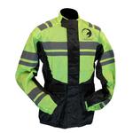 Veste pluie moto ou quad Karno-Motorsport haute visibilité