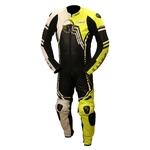 Karno-Motorsport Combinaison de moto une pièce Fluo AIR-TECH