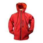 Veste softshell rouge Karno-Motorsport