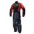 Kt508_1_Combinaison moto pluie noire et rouge
